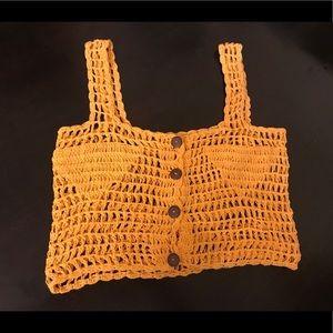 Tops - Vintage crochet tank